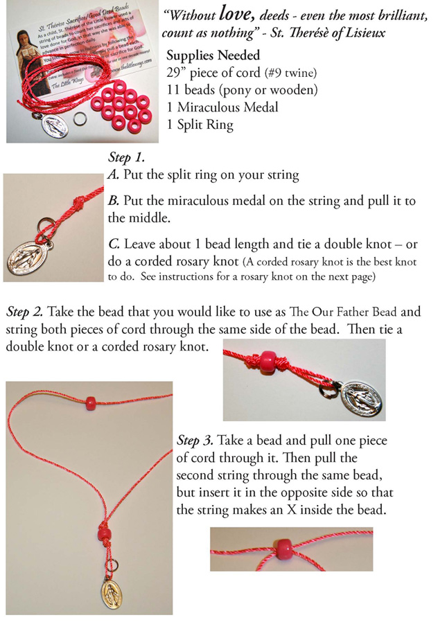 How to make Sacrifice Bead Bracelets - Little Ways ...