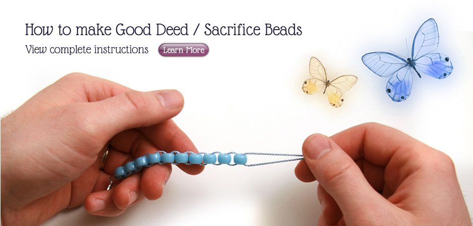 How to Make Good Deed / Sacrifice Beads