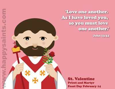 Free St Valentines Printable Cards and Crafts Little Ways – Saint Valentine Card