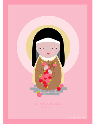 Happy feast of st therese little ways sacrifice beads m4hsunfo
